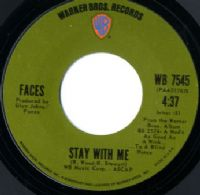 Rod Stewart - Faces - Stay With Me/You're So Rude (WB 7545)